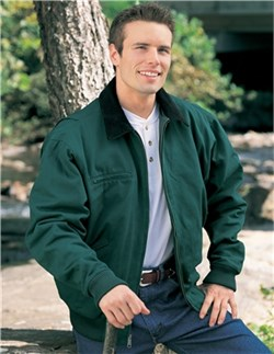 Image of Men's 100% Cotton Sequoia Jacket With A Corduroy Collar