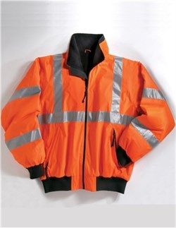 Image of Men's Heavyweight District Protective Jacket With 3M Reflective Tape