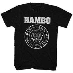 Rambo Shirt Rambo Seal Black T-Shirt