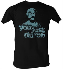 sanford-son-t-shirt-redd-foxx-just-dumb-adult-black-tee-shirt