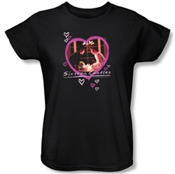Sixteen Candles Ladies T-shirt Movie Candles Black Tee Shirt