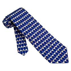 Stack of Martinis Blue Silk Tie Necktie? Men?s Food Drink Neck Tie