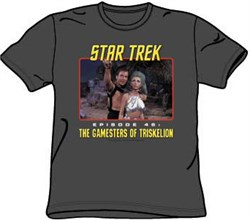 8ef01dbf6 Star Trek T-shirt - Episode 46 Gamesters Of Triskelion Adult Charcoal
