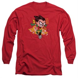 teen-titans-go-shirt-robin-long-sleeve-red-tee-t-shirt
