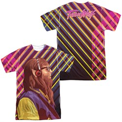 Teen Wolf Wolf Rays Sublimation Shirt Front/Back
