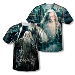 Image of The Hobbit Battle Of The Five Armies Wizard Sublimation Kids Shirt Front/Back Print