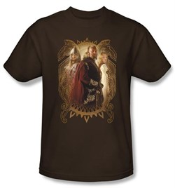 Lord Of The Rings Kids T-Shirt Rohan Royalty Youth Coffee Tee Shirt