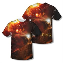 Image of The Lord Of The Rings No Passing Sublimation Kids Shirt Front/Back Print