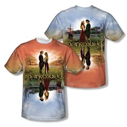 The Princess Bride Poster Sub Sublimation Shirt Front/Back Print