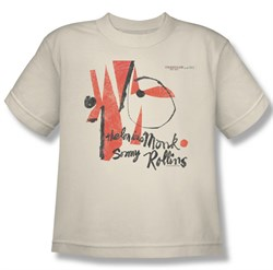 Thelonious Monk Kids Shirt Monk Sonny Rollins Cream Youth Tee T-Shirt