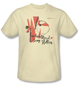 Thelonious Monk Shirt Monk Sonny Rollins Adult Cream Tee T-Shirt