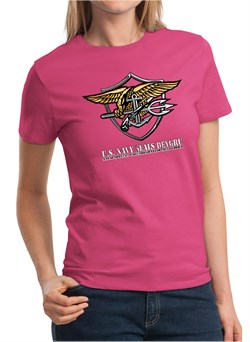 U.S. Navy Seal Shirt Devgru Ladies Tee T-Shirt