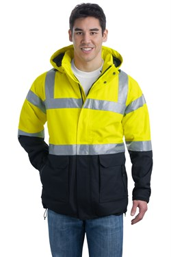 Image of Port Authority Safety Parka Jacket ANSI Class 3 Heavyweight Outerwear
