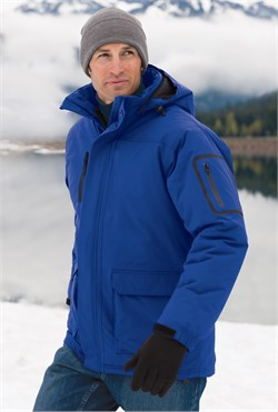 Image of Port Authority Parka Down Jacket Waterproof Heavyweight Outerwear