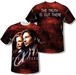 Image of X-Files Truth Seekers Sublimation Kids Shirt Front/Back Print