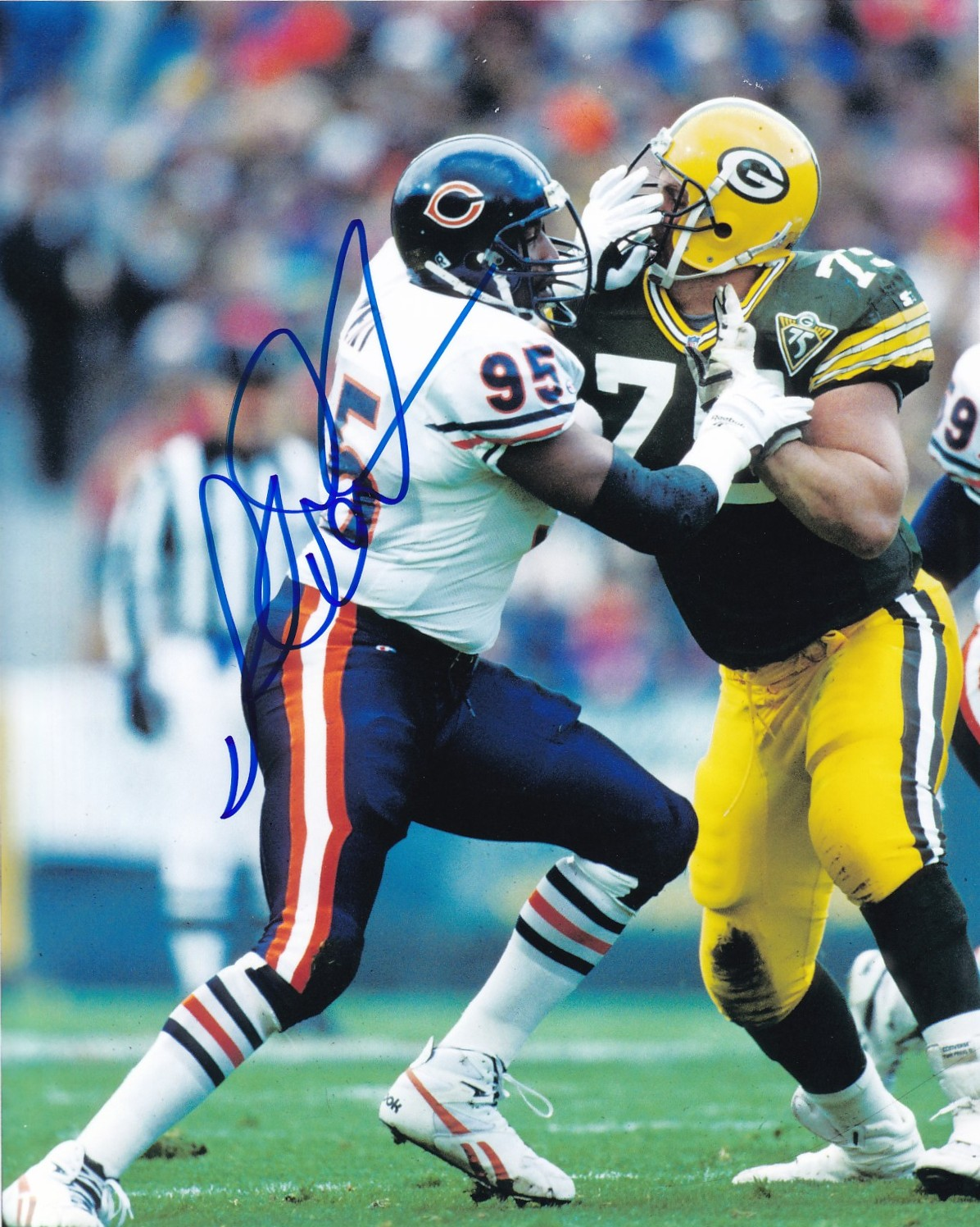 AutographsForSale Richard Dent autographed Chicago Bears 8x10 photo at Sears.com