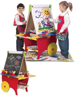 Alex Toys Super Rolling Art Center 721X