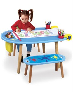 Alex Toys Creativity Center Activity Table 710W