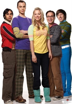Big Bang Theory Standee 1414