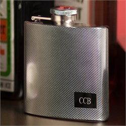 Engraved Stainless Steel Flask GC118