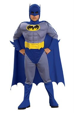Child Deluxe Muscle Chest Batman Costume 883482