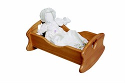 Little Colorado Wooden Doll Cradle 63
