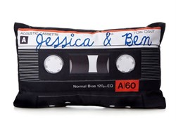 Personalized Mix Tape Pillow PL-017