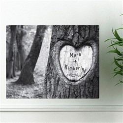 Personalized Wall Art - Tree of Love Canvas Print CA0084