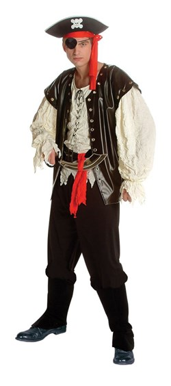 Adult Deluxe Classic Pirate Costume 80409