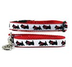 Scottish Terrier Collar & Leash