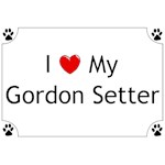 Gordon Setter T-Shirt I Love My