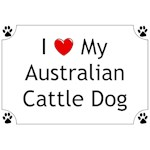 Australian Cattle Dog T-Shirt I Love My