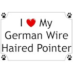 German Wirehaired Pointer T-Shirt I Love My