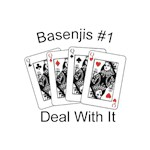 Basenji T-Shirt #1 Deal With It