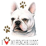 French Bulldog T-Shirt #1 Deal With It