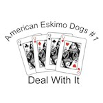 Eskimo Dog T-Shirt #1 Deal With It