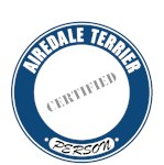 Airedale Terrier T-Shirt Certified Person