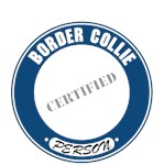 Border Collie T-Shirt Certified Person