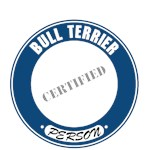 Bull Terrier T-Shirt Certified Person