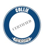 Collie T-Shirt Certified Person