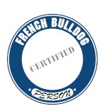 French Bulldog T-Shirt Certified Person