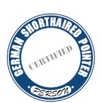 German Shorthaired Pointer T-Shirt Certified Person
