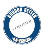 Gordon Setter T-Shirt Certified Person