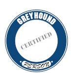 Greyhound T-Shirt Certified Person