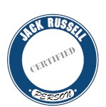 Jack Russell Terrier T-Shirt Certified Person