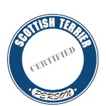 Scottish Terrier T-Shirt Certified Person