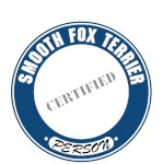 Smooth Fox Terrier T-Shirt Certified Person