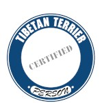 Tibetan Terrier T-Shirt Certified Person