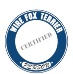 Wire Fox Terrier T-Shirt Certified Person