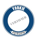 Yorkie T-Shirt Certified Person